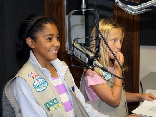 Girl Scouts choose their experiences in a program that