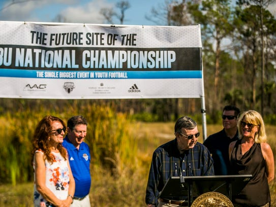 The future site of the Collier County Sports Complex