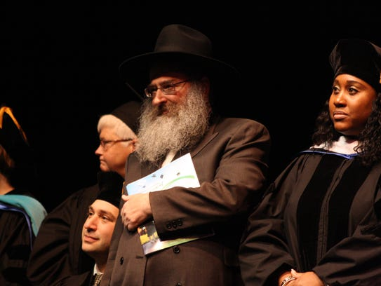 Rabbi Aaron Slonim, Executive Director of Chabad of