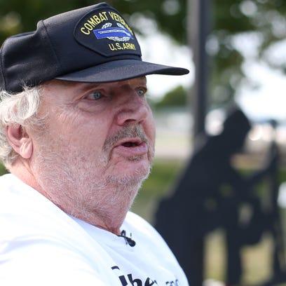 Al Larsen, an Army veteran who served during Vietnam,