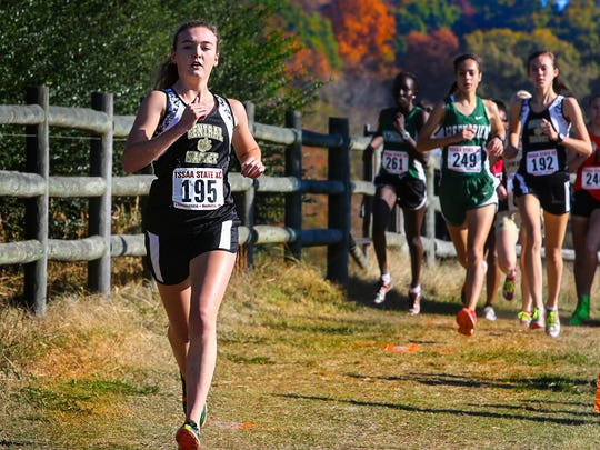 Central Magnet's Taylor Cuneo finished fifth in the