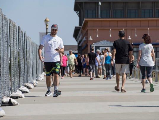 Long Branch boardwalk