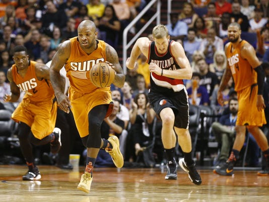 Portland Trail Blazers vs Phoenix Suns 2015