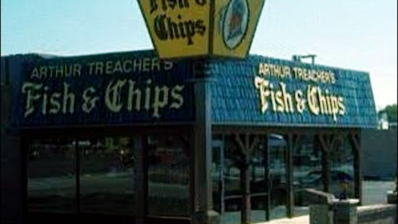 Arthur Treacher's Fish & Chips restaurant.