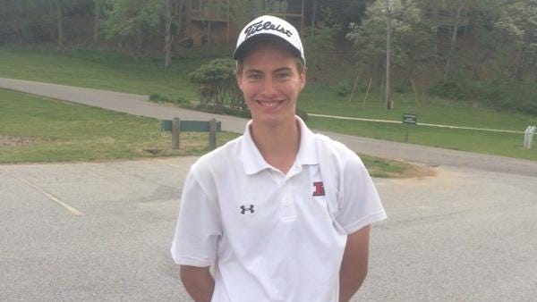 Pisgah golfer Levi Grogan
