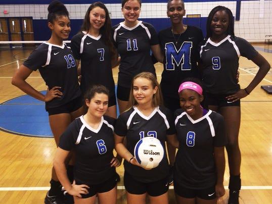 Montclair girls volleyball