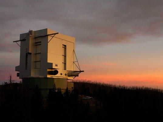 Arizona's Mount Graham International Observatory