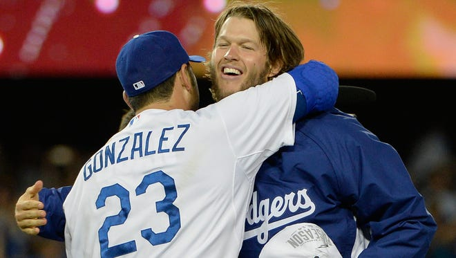 Clayton Kershaw is the Dodgers' highest-paid player, while first baseman Adrian Gonzalez is third, making $ 21,857,142 in 2015.