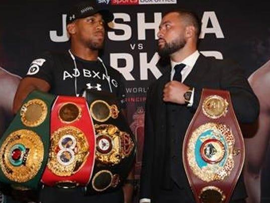 Joshua vs. Parker