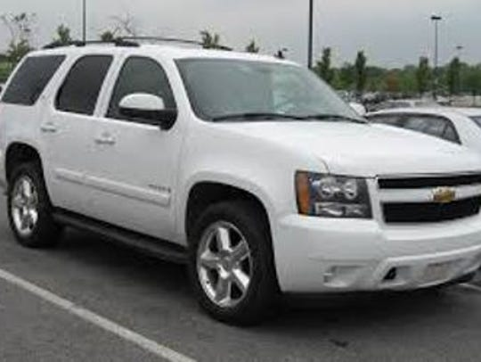 The South Carolina Highway Patrol says a white Chevrolet