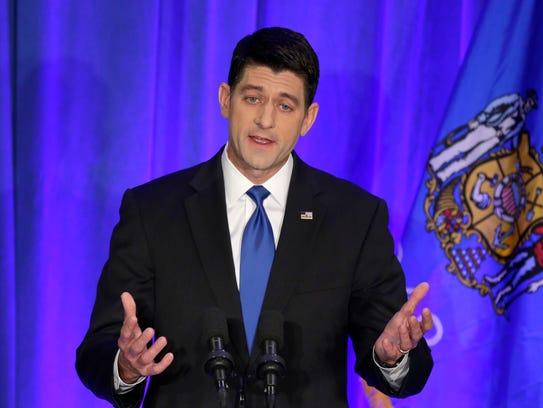 U.S. House Speaker Paul Ryan.