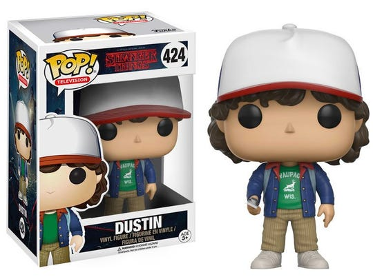 "Funko Pop! recently released  10 different ""Stranger Things"" dolls for fans of the The Upside Down."