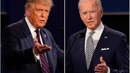 """Democratic presidential nominee Joe Biden edged ahead on Wednesday afternoon after clinching the key """"blue wall"""" state of Wisconsin."""