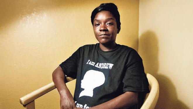 """""""This gives the community (Dunbar) hope that things are seriously changing,"""" said Toyetta Simpson on Monday after learning of the arrest of two men in the killing of her 5-year-old son, Andrew Faust Jr."""