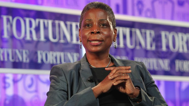 Chairman and CEO of Xerox Ursula Burns speaks onstage at the 'Fortune' Most Powerful Women Summit on Oct. 17, 2013, in Washington, D.C.