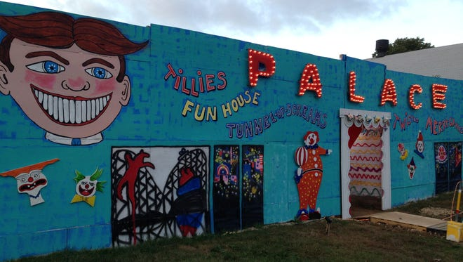 Tillie's Funhouse at the Camp Evans Base of Terror  in Wall.