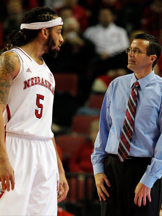 NCAA Basketball: Arkansas State at Nebraska