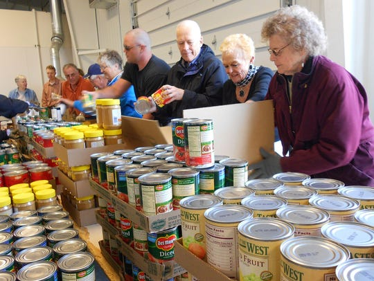 United Way also helps with the Retired Senior Volunteer