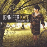 """Jennifer Kaye of Rayne, a singer for more than 30 years, has released her first solo project, """"Through My Eyes."""""""
