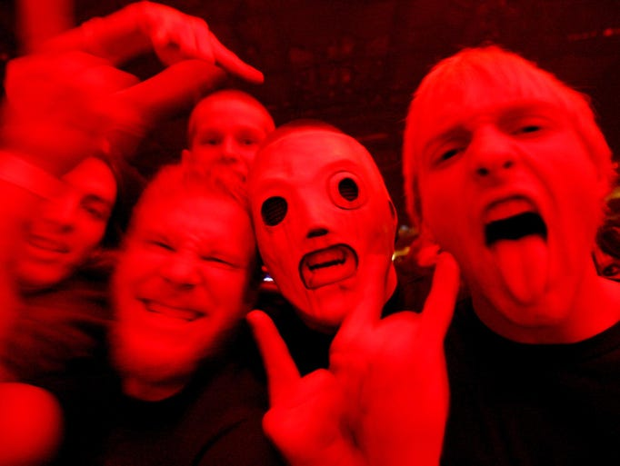 "Slipknot fans called ""maggots"" packed Wells Fargo Arena."