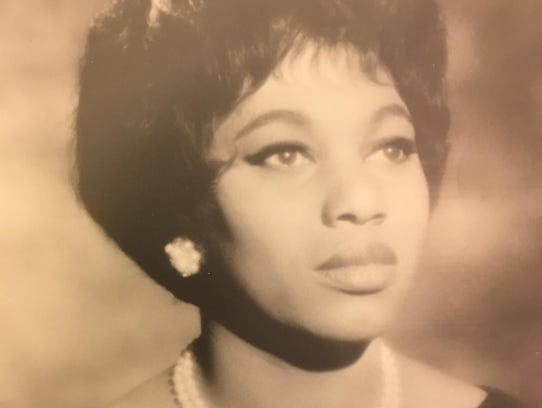 A photo of operatic soprano Leontyne Price from the