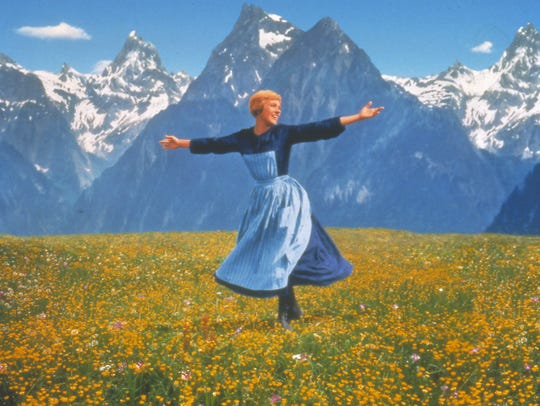 "Julie Andrews and the Austrian Alps star in ""The Sound"