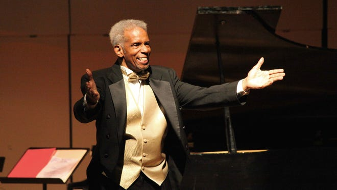 Reginald Walters, son of the late Arthur M. Walters, former executive director of the Urban League, will be featured performer at benefit concert