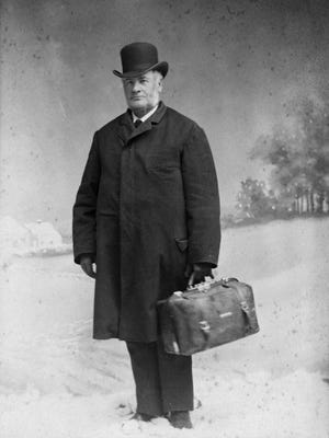 Dr. Lucius Dixon practiced in Milton from 1866 to the turn of the century. He was known for his dedication to the job as well as his gigantic stature and strength. He is said to have picked up a sleigh blocking his path; lifted it — and the man in it — above his head so they could both be on their way without delay.