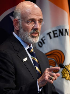 University of Tennessee system President Joe DiPietro