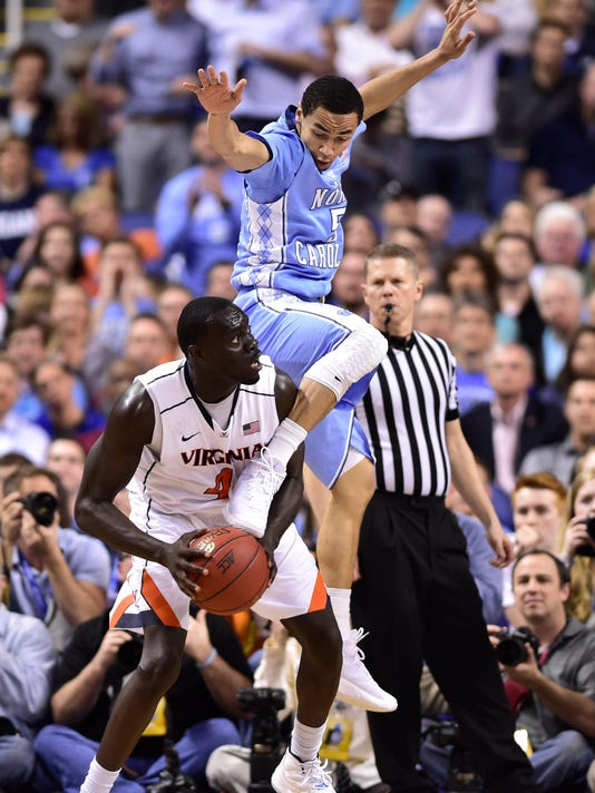 NCAA Basketball: ACC Conference Tournament-Virginia vs North Carolina