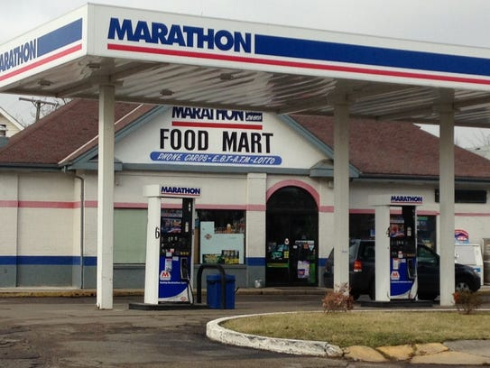 The Marathon Food Mart in the 900 block of East Main