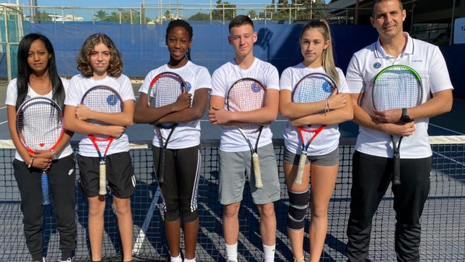 A team of Israeli junior tennis players from culturally and religiously diverse backgrounds will participate in Israel Tennis & Education Centers' annual exhibition swing through Florida beginning this week.