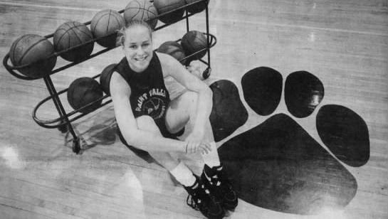 Paint Valley graduate Molly Mahaffey ended her high school basketball career with 1,520 points, still a school record. She's now a math teacher at Huntington Middle School.