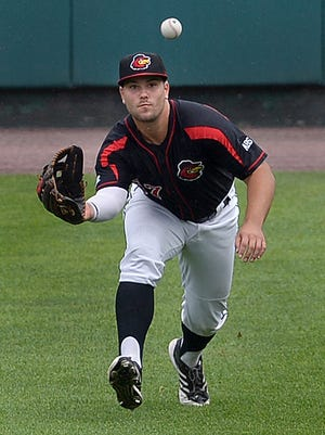 Daniel Palka, shown with the Rochester Red Wings in 2016, has been called up to the Chicago White Sox to replace injured outfielder Avisail Garcia. ROCHESTER DEMOCRAT AND CHRONICLE