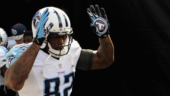 Delanie Walker leads the Titans' deepest offensive