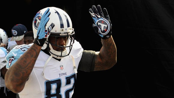 Delanie Walker leads the Titans' deepest offensive position: tight end.