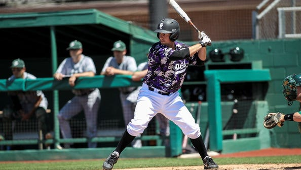 Grand Canyon first baseman/outfielder Michael Pomeroy has  been  red-hot at the plate entering  final  WAC series.