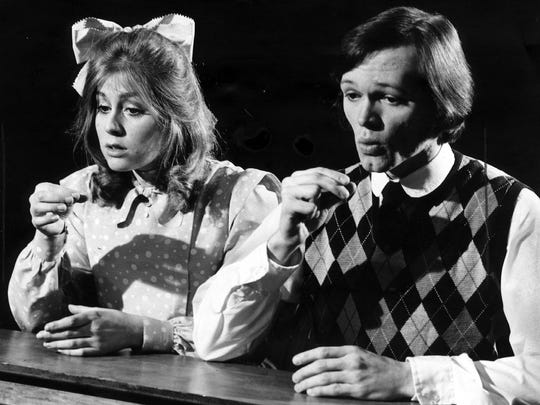 "Before she became a TV and Broadway star, Judith Light played Emily, opposite Robert Ground as George, in the Milwaukee Repertory Theater's production of ""Our Town"" during the 1973-'74 season."
