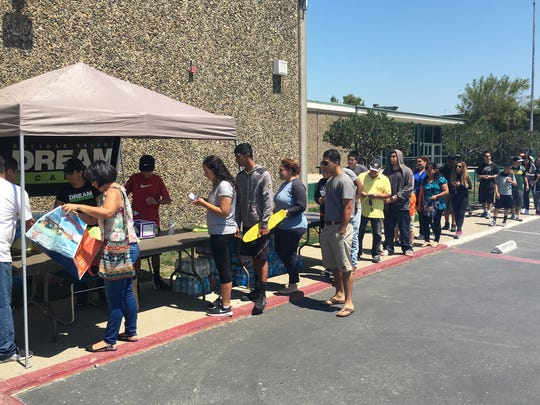 Salinas residents coming together to help support students holding a Dream Academy fundraiser for the D.C. trip.