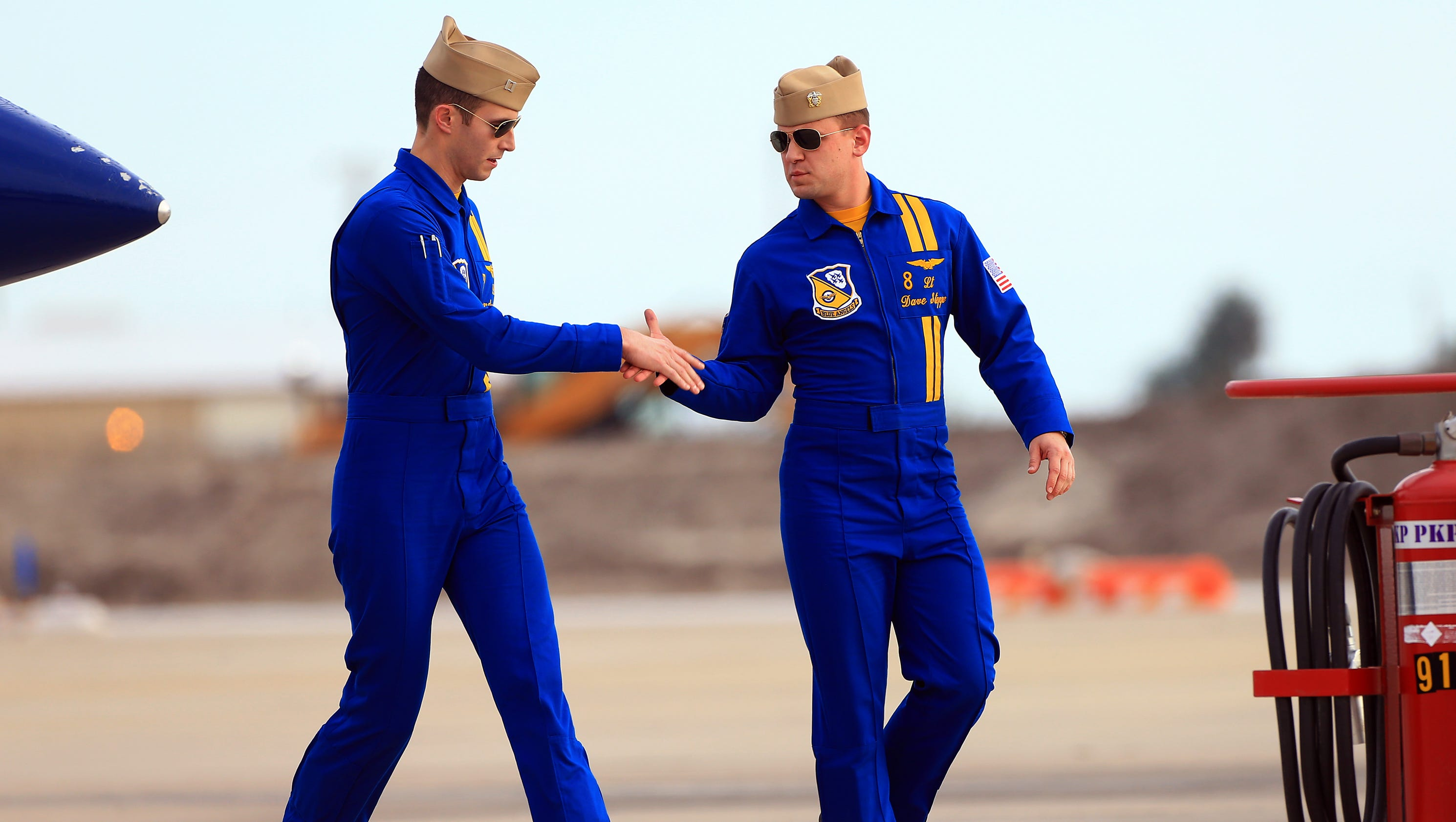 Meet The Blue Angels Before Wings Over South Texas