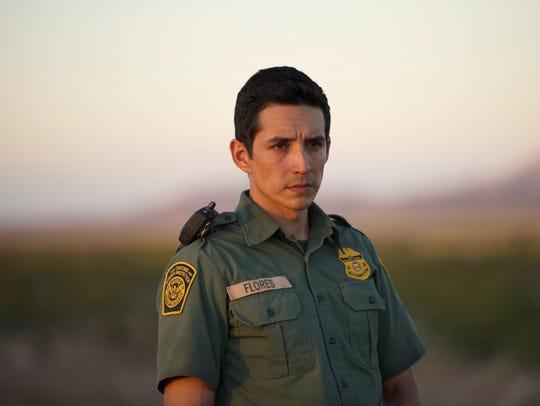 Lance Flores (Gabriel Luna) is a Border Patrol agent