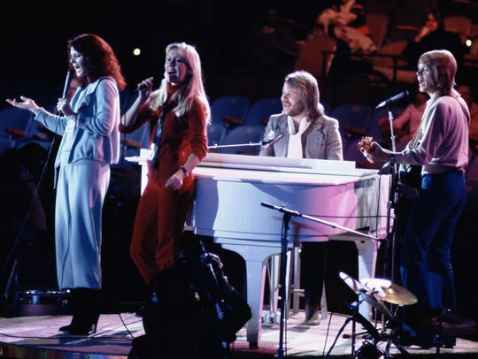 In this file photo dated Tuesday Jan. 9, 1979, Abba