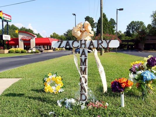 Zachary Hammond memorial