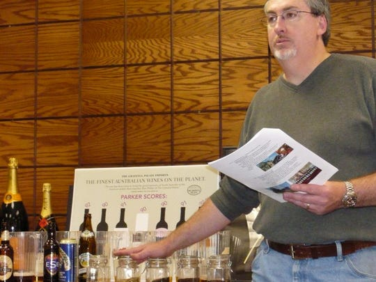 Ron Smith, certified beer expert and master judge, hosts a series of classes in Carmel for students to earn a Master of Beer Appreciation (MBA) certificate.