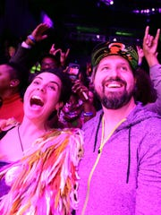 Fans enjoy George Clinton & Parliament Funkadelic's