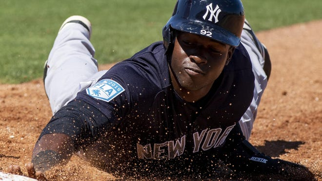 Injuries and inconsistent play have damaged outfielder Estevan Florial's development but the 22-year-old still remains highly-regarded prospect in Yankees organization.