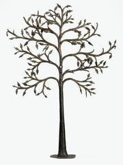 Draper's Sign, 'The Dry Tree,' first quarter of the 17th century. France, Paris. Wrought iron, stamped and polychromed.