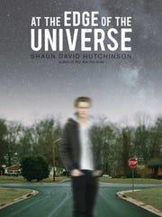 The cover of Shaun David Hutchinson's 'At the Edge