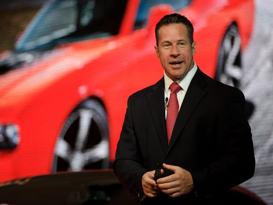 FCA's Reid Bigland is head of U.S. sales as well as the Ram truck brand and is CEO of FCA Canada.