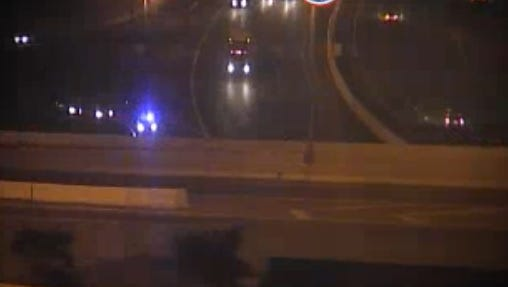 A motorcyclist suffered life-threatening injuries after crashing on a Briley Parkway ramp near the Nashville International Airport.